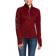 Ariat Women's Tek Team Quarter Zip (Charcoal)