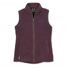 Musto Women's Glemsford Polartec Fleece Gilet (Bordeaux)
