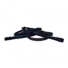 Mark Todd Soft Hold Rubber Reins (Black)