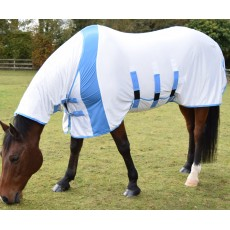 JHL Ultra Fly Relief Combo Rug (White & Blue)