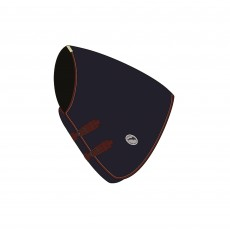 JHL Mediumweight Turnout Neck Cover (Navy & Burgundy)