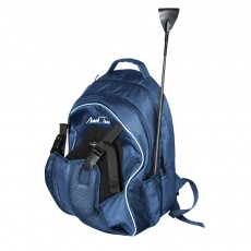 Mark Todd Sports Luggage Ring Backpack (Navy/Silver)