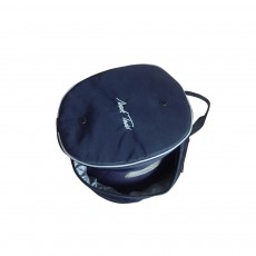 Mark Todd Sports Luggage Hat Bag (Navy/Silver)