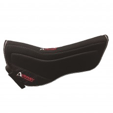 Mark Todd Airway Half Pad (Black)