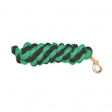 Mark Todd Cotton Lead Rope (Navy & Jade)