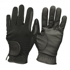 Mark Todd Kid's Super Riding Gloves (Black)
