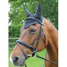 Mark Todd Diamante Fly Veil (Black)
