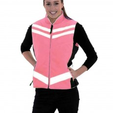 Equisafety Women's Quilted Gilet (Pink)