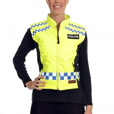 Equisafety Women's POLITE Quilted Gilet (Yellow)