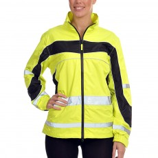 Equisafety Women's Lightweight Waterproof Jacket (Yellow)