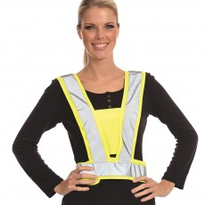 Equisafety Reflective Body Harness (Yellow)