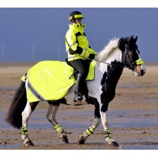 Equisafety Waterproof Quilted Hi-Vis Wrap Around Rug