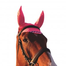 Equisafety Reflective Fly Veil (Pink)