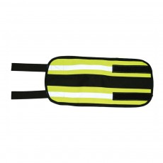 Equisafety Reflective Adjustable Leg Bands (Yellow)