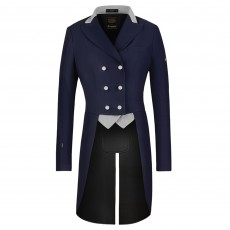 Cavallo Ladies Vienna mA Tail Coat (Navy/Light Grey)