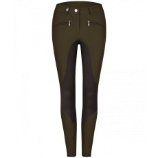 Cavallo Ladies Caja Grip Cavashell Breeches (Forest)