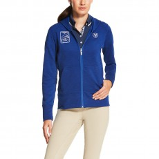 Ariat Women's FEI World Cup Milton Hoodie (Mazarine Blue)