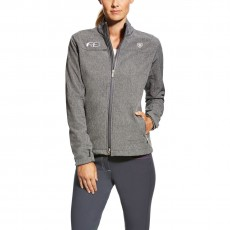 Ariat Women's FEI Bodymap Softshell Jacket (Charcoal)