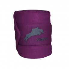 JHL Polo Bandages (Purple)