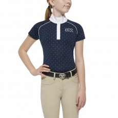 Ariat Girl's Fashion Aptos (Navy Dot)