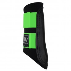 Woof Wear Club Brushing Boot Colour Fusion (Black/Lime)