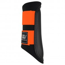 Woof Wear Club Brushing Boot Colour Fusion (Black/Orange)
