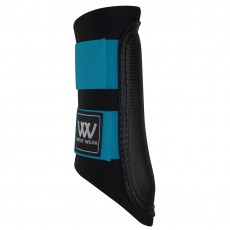 Woof Wear Club Brushing Boot Colour Fusion (Black/Turquoise)