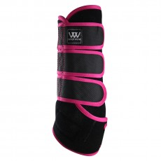 Woof Wear Dressage Wrap Colour Fusion (Black/Berry)