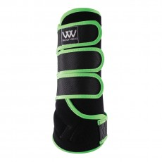 Woof Wear Dressage Wrap Colour Fusion (Black/Lime)