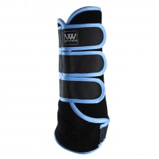 Woof Wear Dressage Wrap Colour Fusion (Black/Powder Blue)