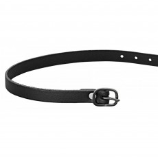 Sprenger Leather Spur Strap with Black Buckle (Black)