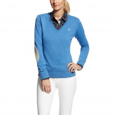 Ariat Women's Cotton Ramiro Sweater (Blue Saga)