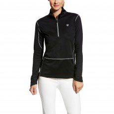 Ariat Women's Menlo Half Zip (Black)