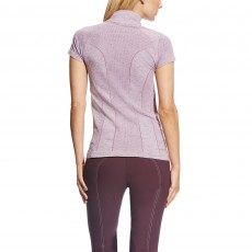 Ariat Women's Odyssey Seamless Quarter Zip (Plum Shadow)