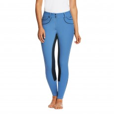 Ariat Women's Olympia Acclaim Full Seat Breeches (Blue Saga)