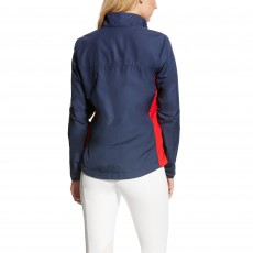 Ariat Women's Team Ideal Windbreaker Jacket (Navy)