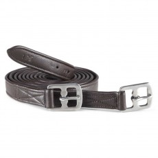Caldene Anti-Stretch Stirrup Leathers (Havana)