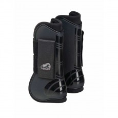 Masta Deluxe Open Tendon Boots (Black)