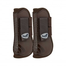 Masta Deluxe Open Tendon Boots (Brown)