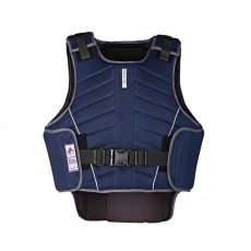 Harry Hall Adult Zeus Body Protector (Navy Blue)