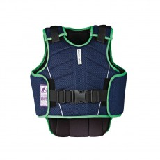 Harry Hall Childs Zeus Body Protector (Navy/Apple)
