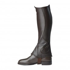 Harry Hall Unisex Dalton Synthetic Gaiters (Chocolate)