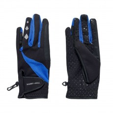 Harry Hall Unisex Bellmount Gloves (Black)