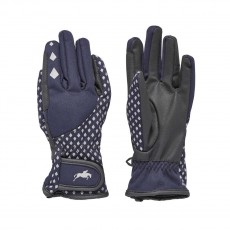 Harry Hall Junior Farley Riding Glove (Navy Blue)