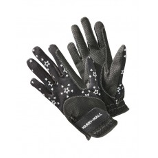 Harry Hall Junior Roxby Reflective Gloves (Black)