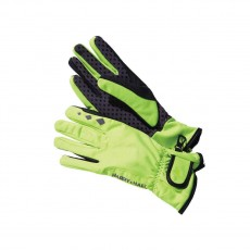 Harry Hall Softshell Riding Gloves (Yellow)