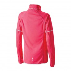Harry Hall Women's Hi Viz Zip Top (Pink)