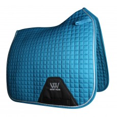 Woof Wear Dressage Saddle Cloth Colour Fusion (Turquoise)