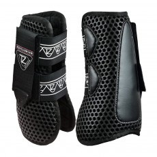 Equilibrium NEW Tri-Zone Open Fronted Tendon Boots (Black)