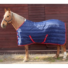 Whitaker Thomas 250g Stable Rug (Navy/Red)